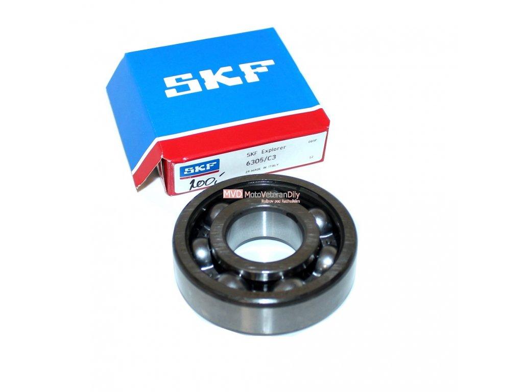 Ložisko SKF 6305 C3 - (Jawa 250, 350)