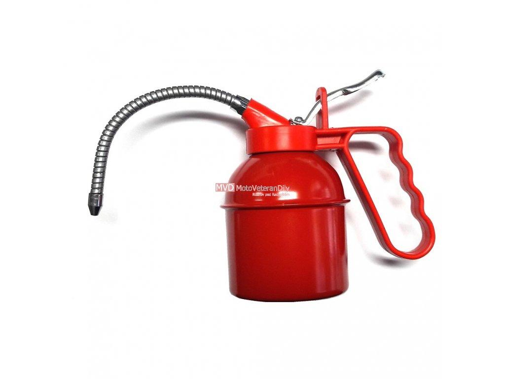 Olejnička kovová 300 ml