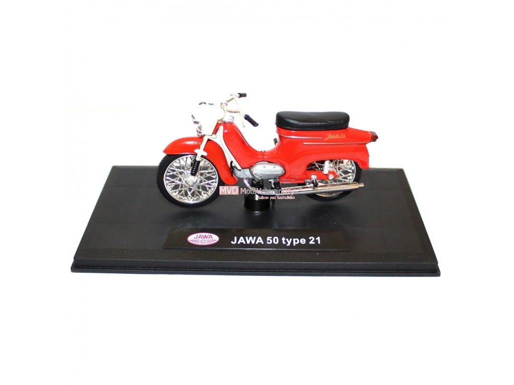 Model PIONÝR Jawa 50 typ 21