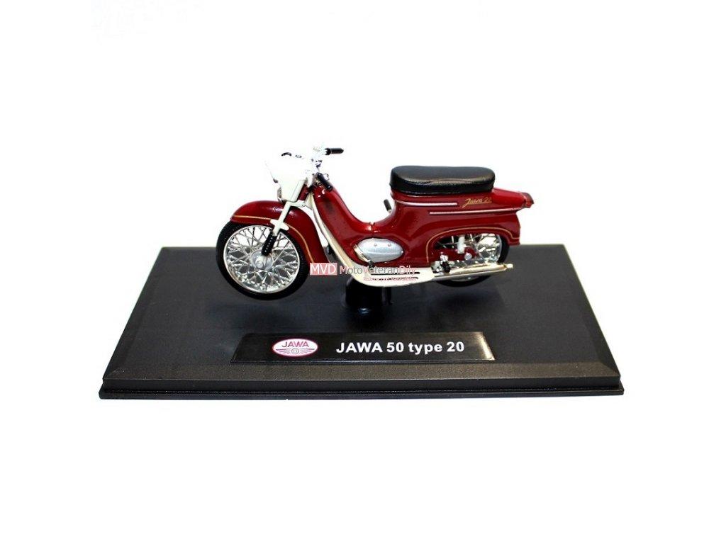 Model PIONÝR Jawa 50 typ 20