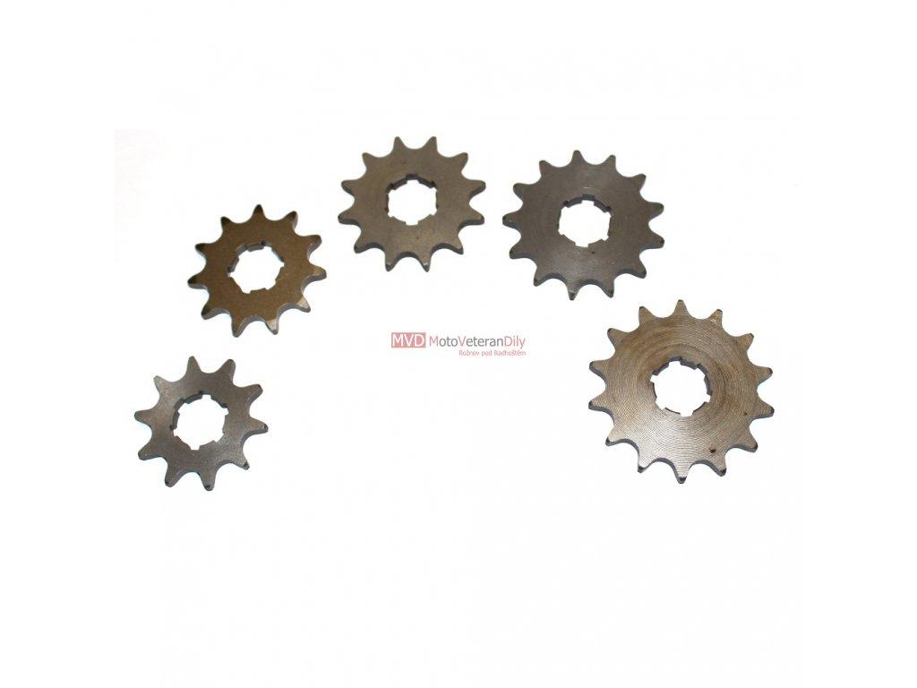 Kolo řetězové Pionýr 10 z, 11z, 12z, 13z, 14z - (kalené - CZ výroba)