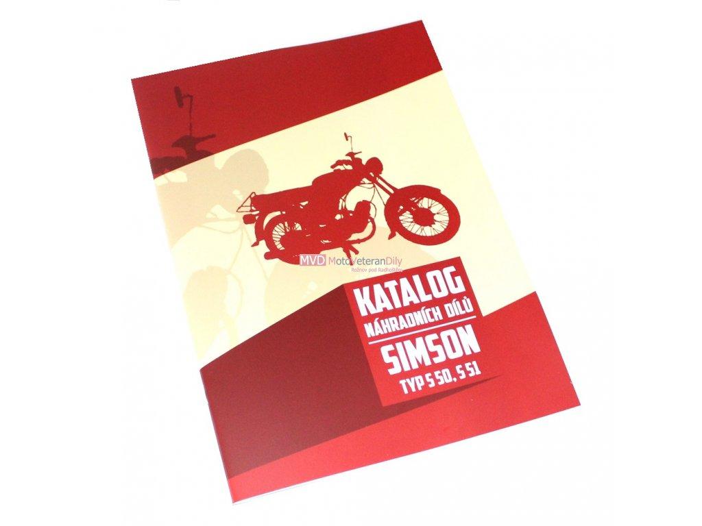 Katalog náhradních dílů Simson