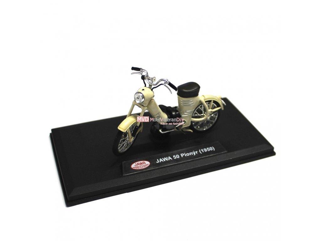Model Jawa 550 pařez - (Slonová kost)