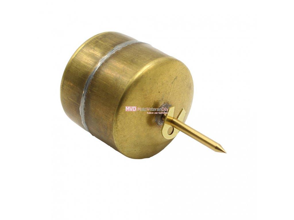 Plovák s jehlou a zajištěním - (J550/555, J500 OHC, MANET 90)