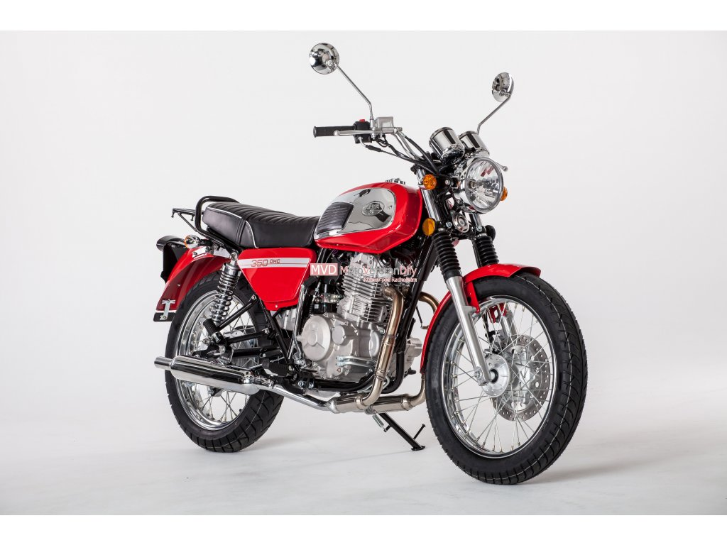 Jawa 350 OHC - (SKLADEM NA PRODEJNĚ v Rožnově pod Radhoštěm)