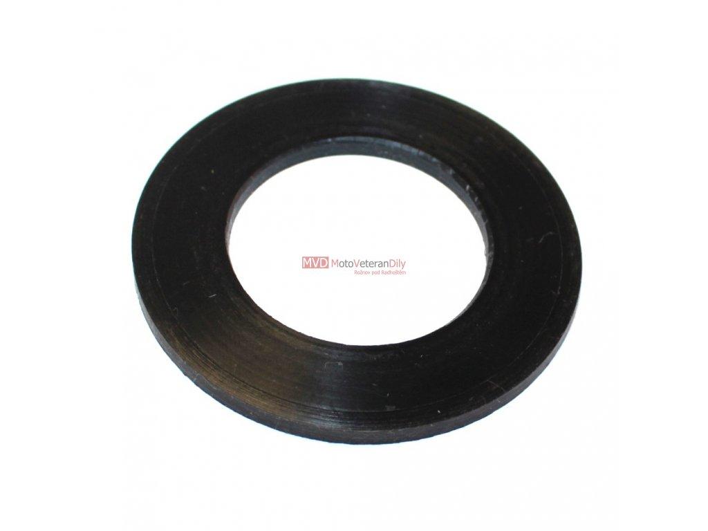 Podložka proti cinkání krytů zadních kluzáků - (Pérák, OHC, Čz 125/150 C)