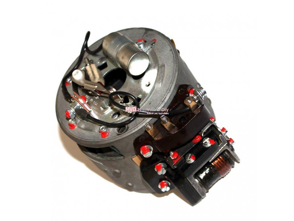 Zapalování Jawa-ČZ 6V jednoválec - (po rekonstrukci)