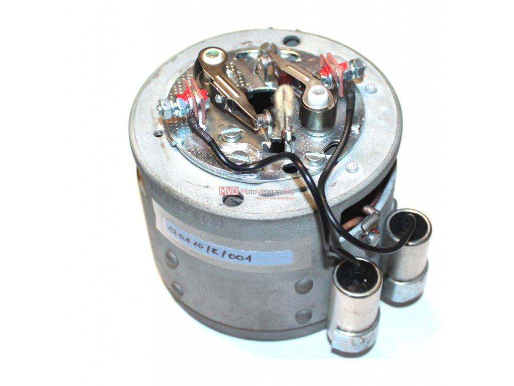 Zapalování Jawa-ČZ 350 - 6V dvouválec se svorkovnicí  - (pro krabičkové relátko)