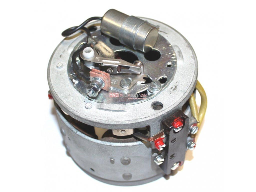 Zapalování Jawa-ČZ - 6V jednoválec se svorkovnicí  - (pro krabičkové relátko)