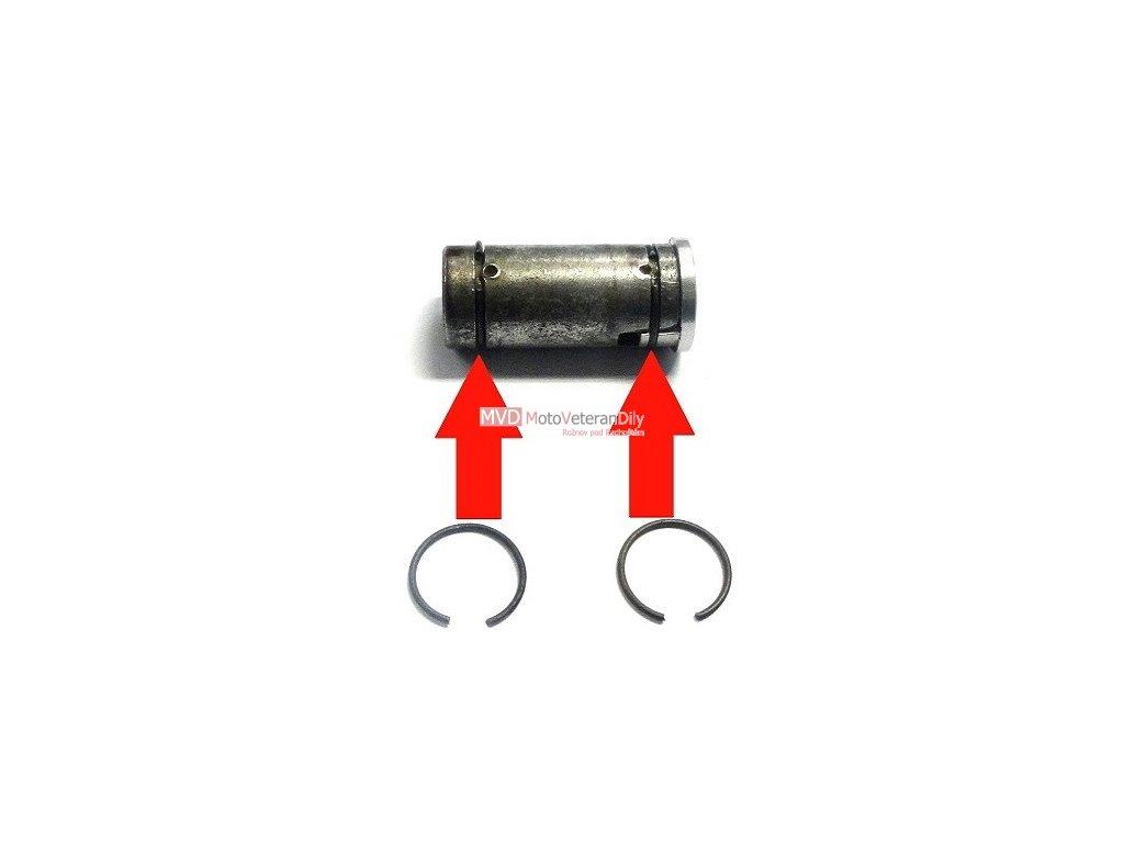 Pružina do vložky spínačky JAWA 90 (kruhová) - 1kus