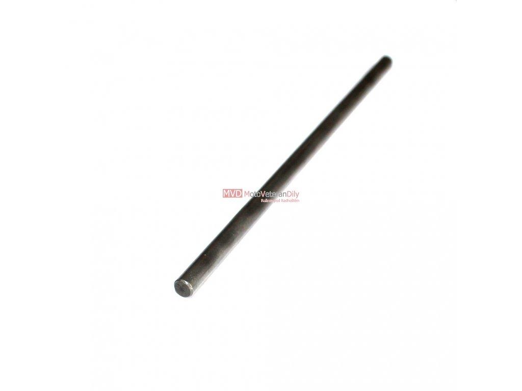 Tyčinka spojky vypínací 5 mm - kalená - (tvrdost 58 HRC) - délka 140 mm
