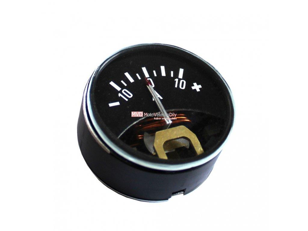 Ampermetr 10A - (ukostření na mínus)