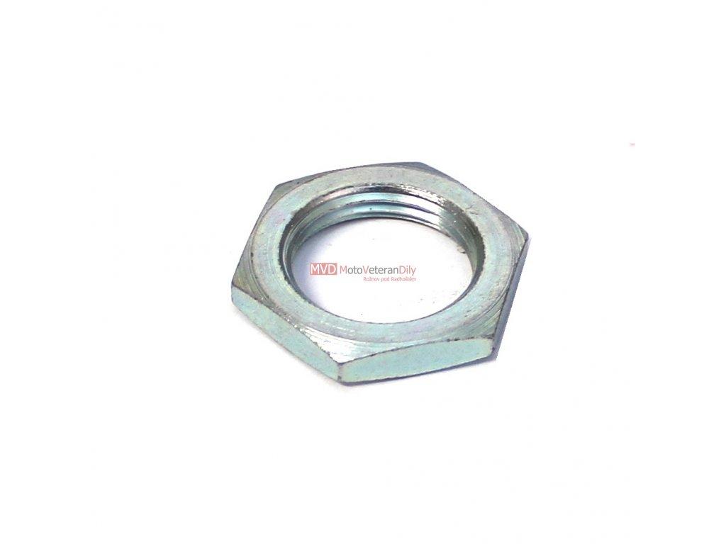 Matice řetězového kolečka M20x1,5 - (PIONÝR, ČZ kulatá)