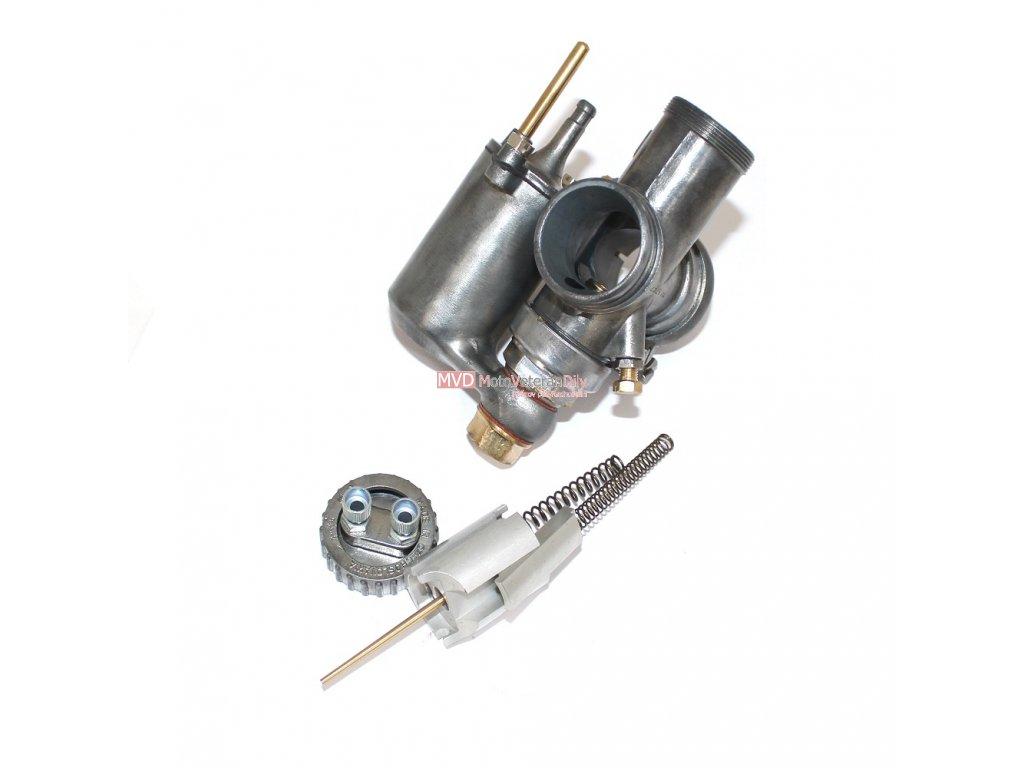 Repase karburátoru Jawa 500 OHC - nové šoupátka (eloxovaný hliník)