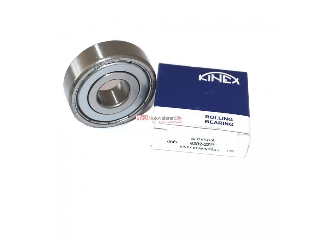 Ložisko 6302 - 2ZR - (Kinex)