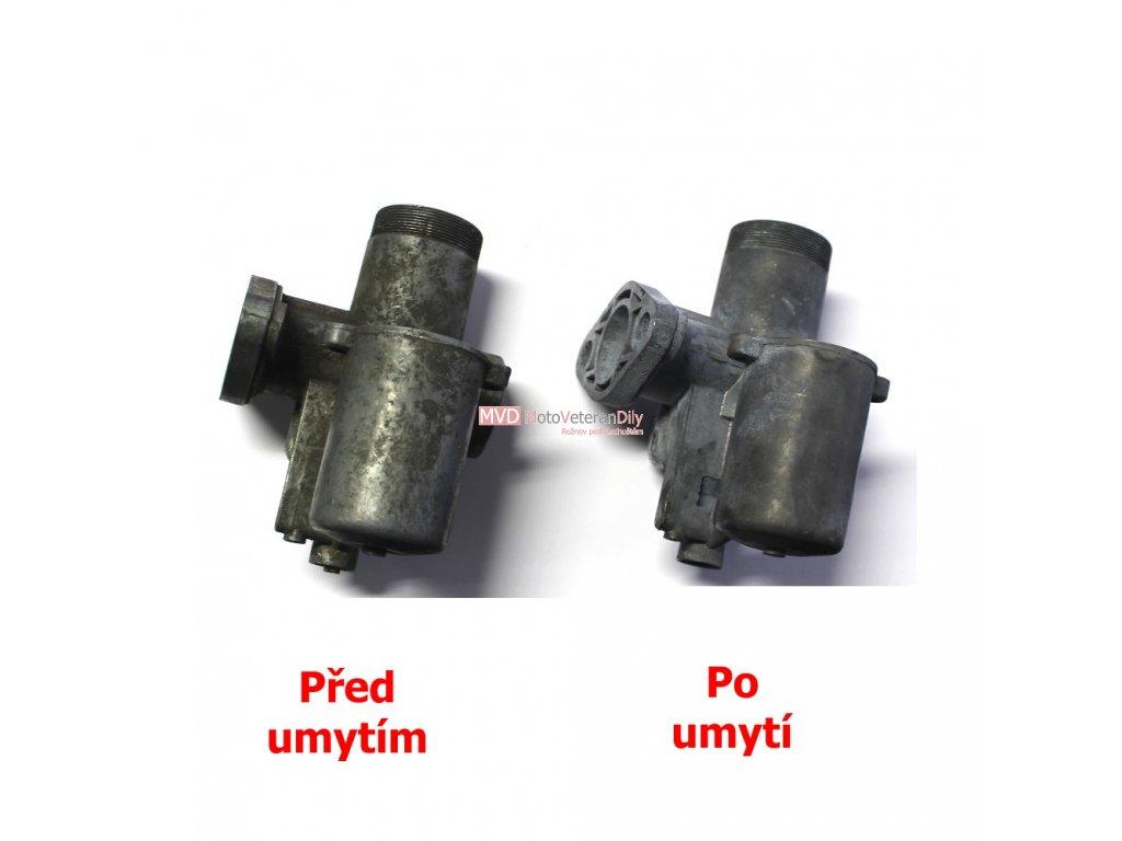 Číštění karburátoru v ultrazvukové myčce
