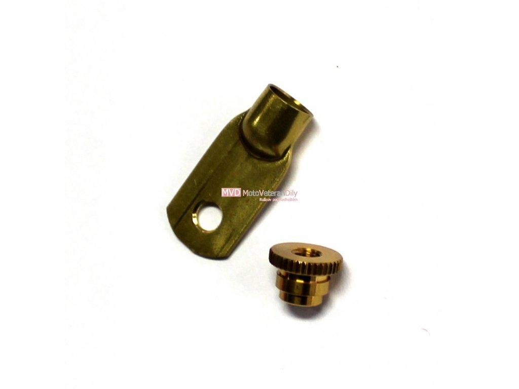 Kabelová koncovka - (mosazná šrubovací)