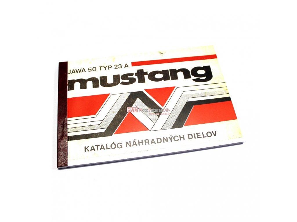 Katalog náhradních dílů Jawa 50 TYP 23 A Mustang