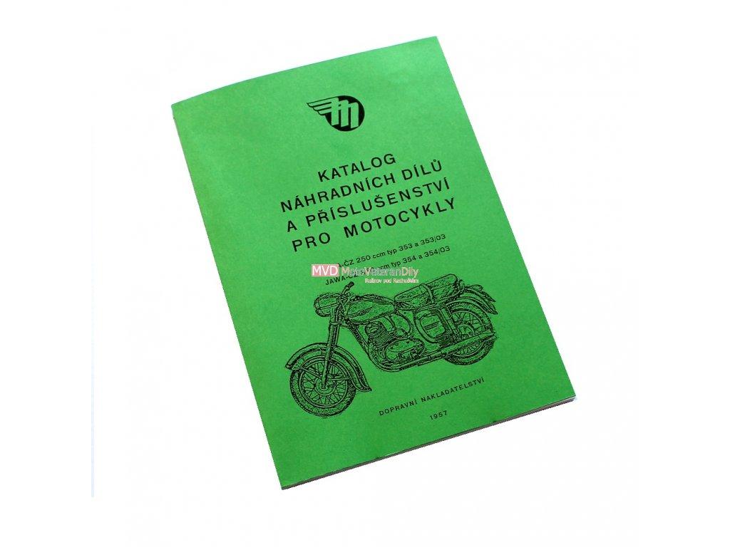 Katalog náhradních dílů JAWA 250/353, 350/354 - spínačka v nádrži
