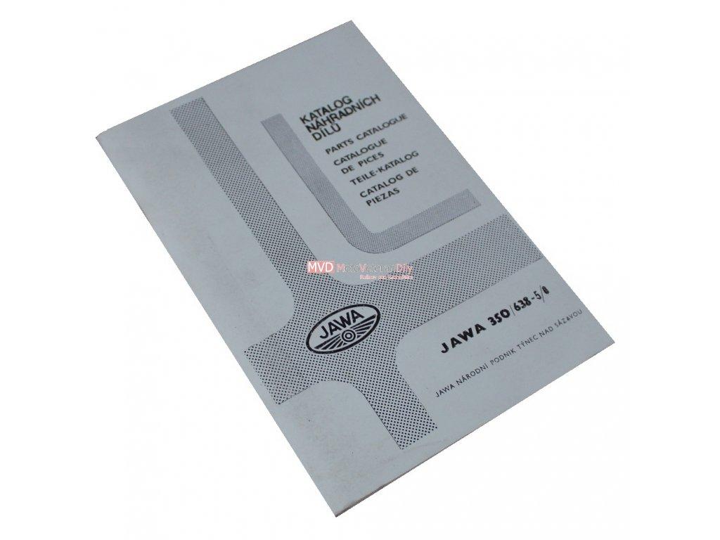 Katalog náhradních dílů JAWA 638