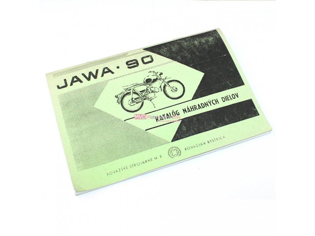 Katalog náhradních dílů Jawa 90 CROSS