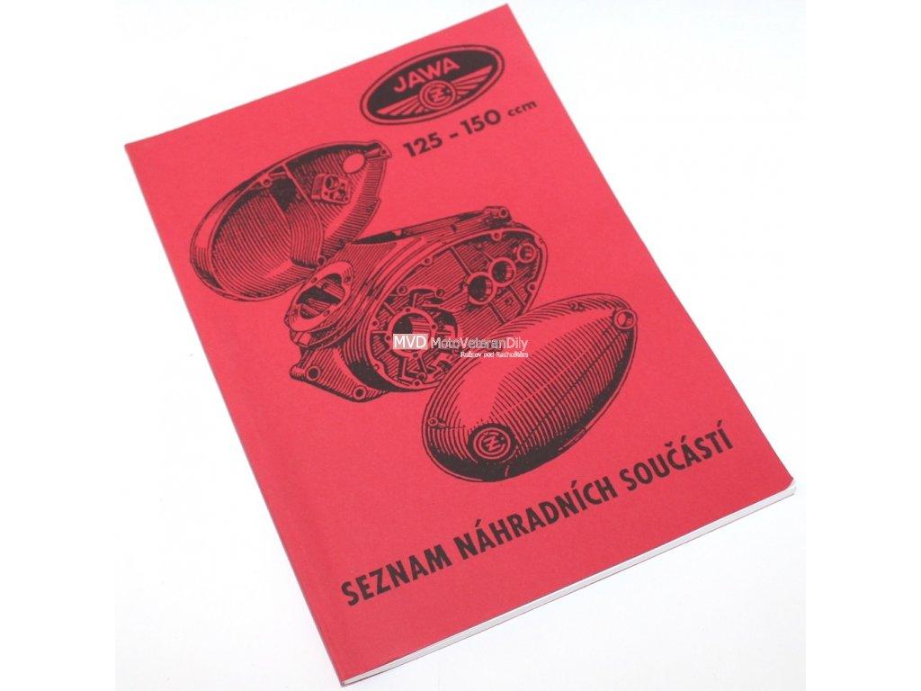 Katalog náhradních dílů Jawa-ČZ 150 Mezityp