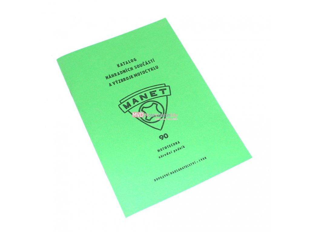 Katalog náhradních dílů Manet 90 - dvoupísťák