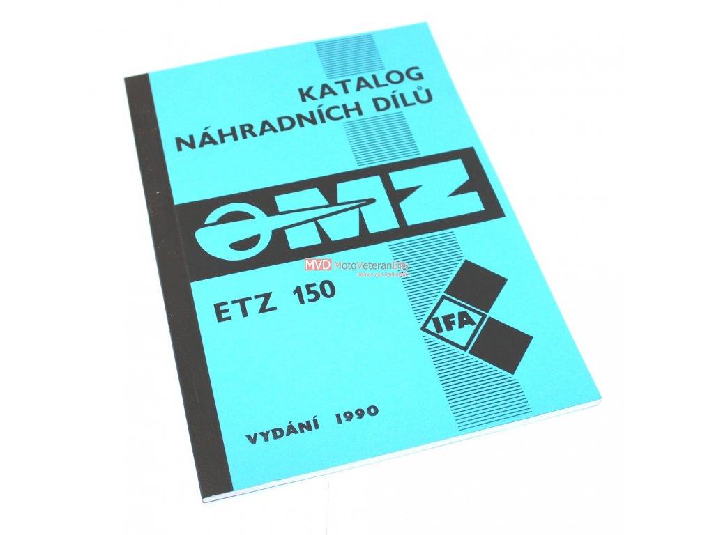 Katalog náhradních dílů MZ 150 ETZ