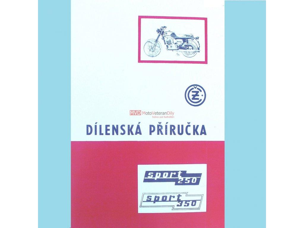 Dílenská příručka Čz 250, Čz 350