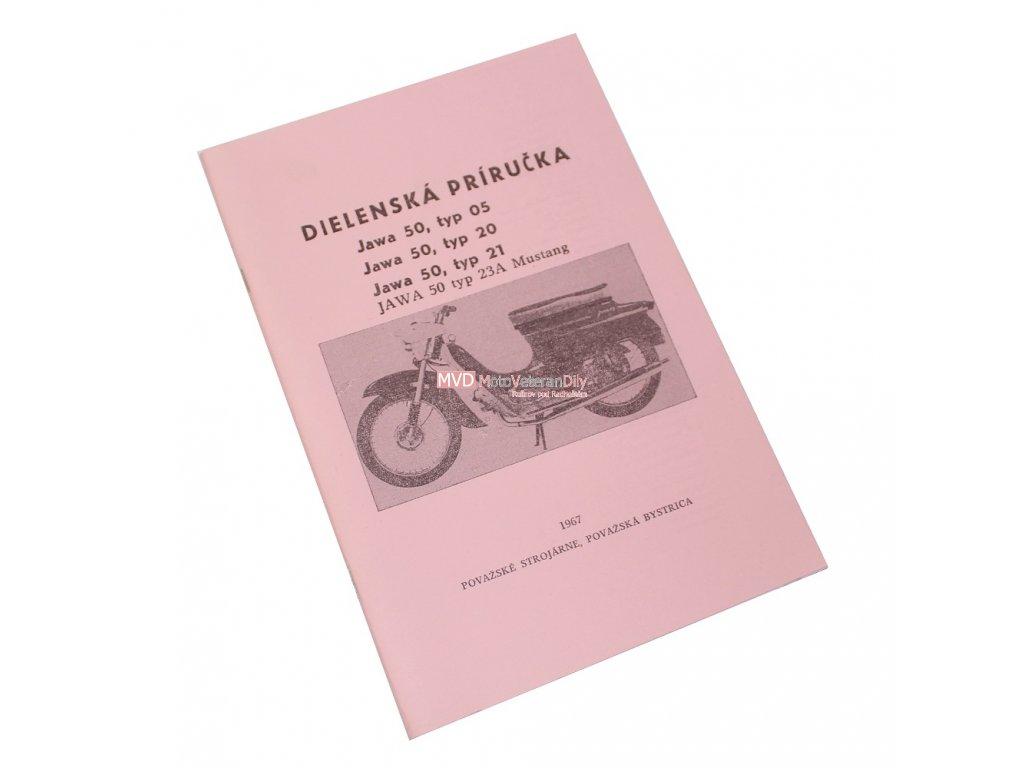 Dílenská příručka Jawa 50 - 05,20,21,23