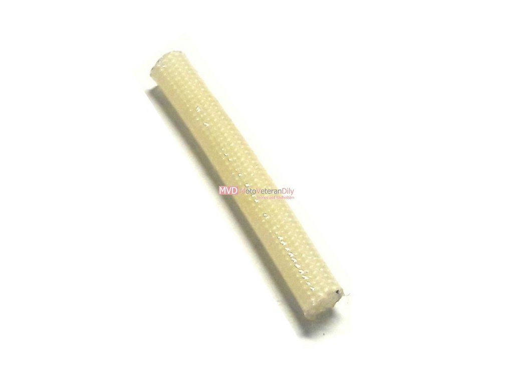 Textilní opletaná bužírka - (vnitřní průměr 3 mm) - 1.METR