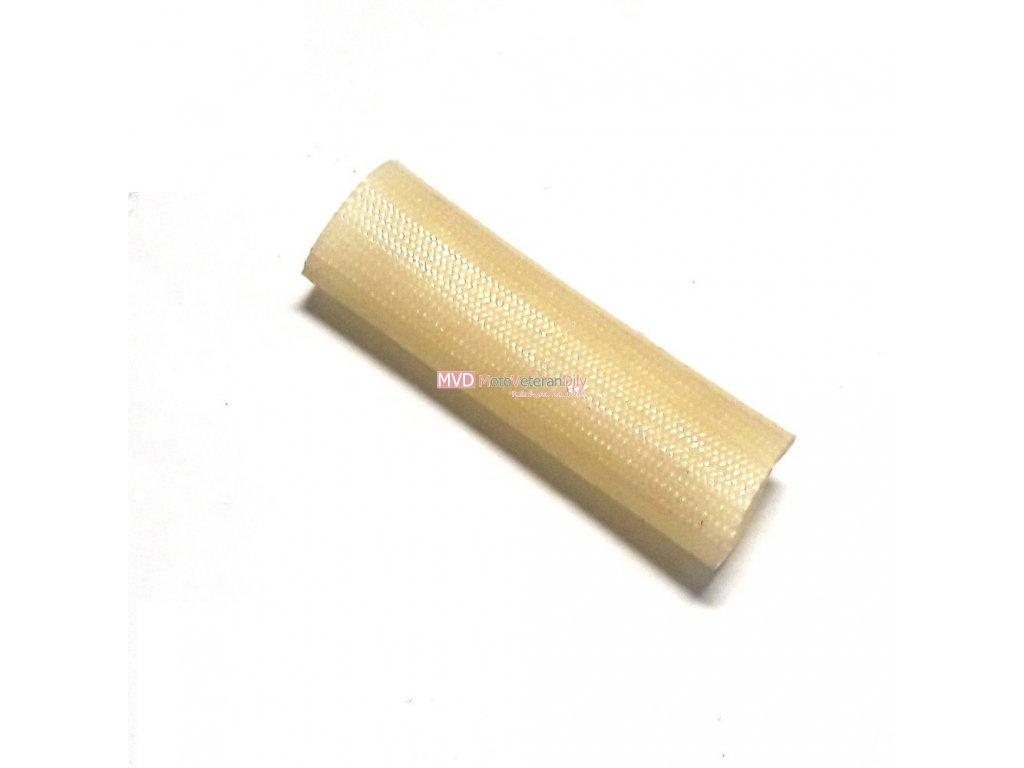 Textilní opletaná bužírka - (vnitřní průměr 10 mm) - 1.METR