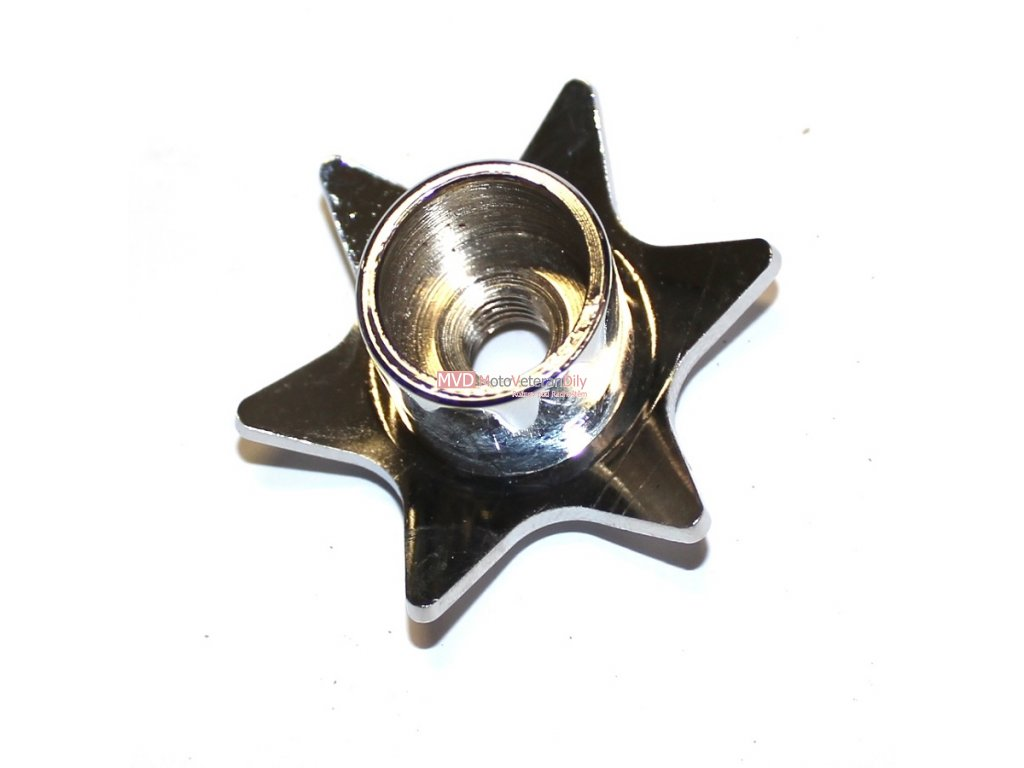 Třecí tlumič - hvězdička (spodní díl)