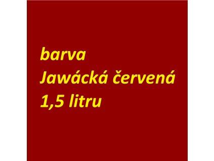 Barva - Jawácká Červená 1,5 litru MOBIHEL - (lesklá)