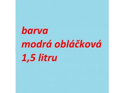 Barva - modrá obláčková na Jawa 550/555 1,5 litru MOBIHEL