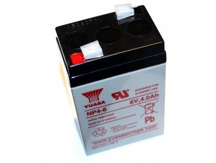 Baterie 6V - 4Ah do bakelitového krytu baterie - (gelová)