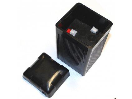 Bakelitový kryt baterie s víkem + baterie