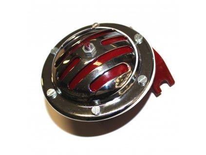 Bzučák Jawa 550/555 - originál - (repasovaný) červené tělo