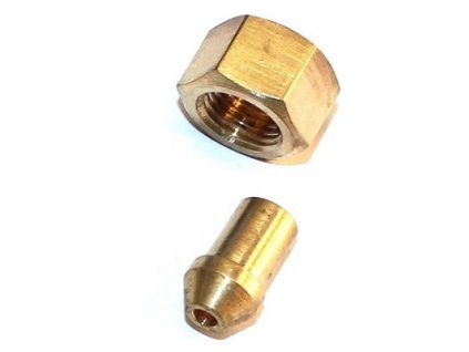 Matice palivového potrubí 10x1 + náustek