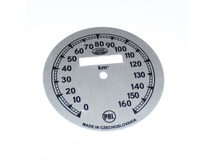 Ciferník tachometru Jawa 500 OHC - 01