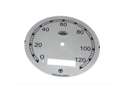 Ciferník tachometru Pérák 250 - (typ FJ - ČISTÝ)
