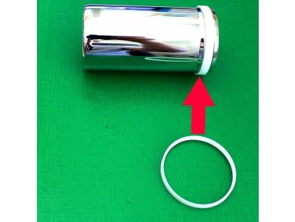 Teflonový kluzný kroužek na Chromovanou misku zadního tlumiče