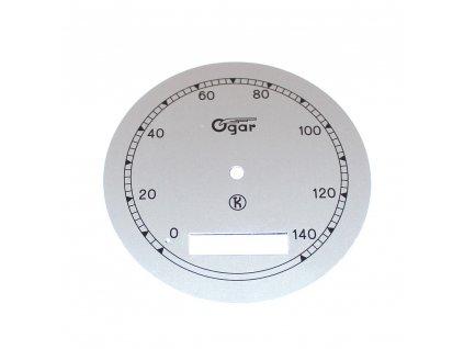 Ciferník tachometru Ogar 350 - (typ 12) do 140 km/h