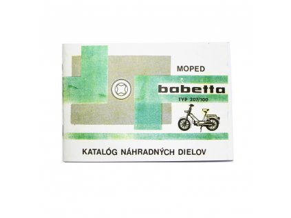 Katalog náhradních dílů Babetta 207/100