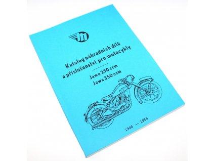 Katalog náhradních dílů Pérák 250, 350 (ročník 1946-1954)