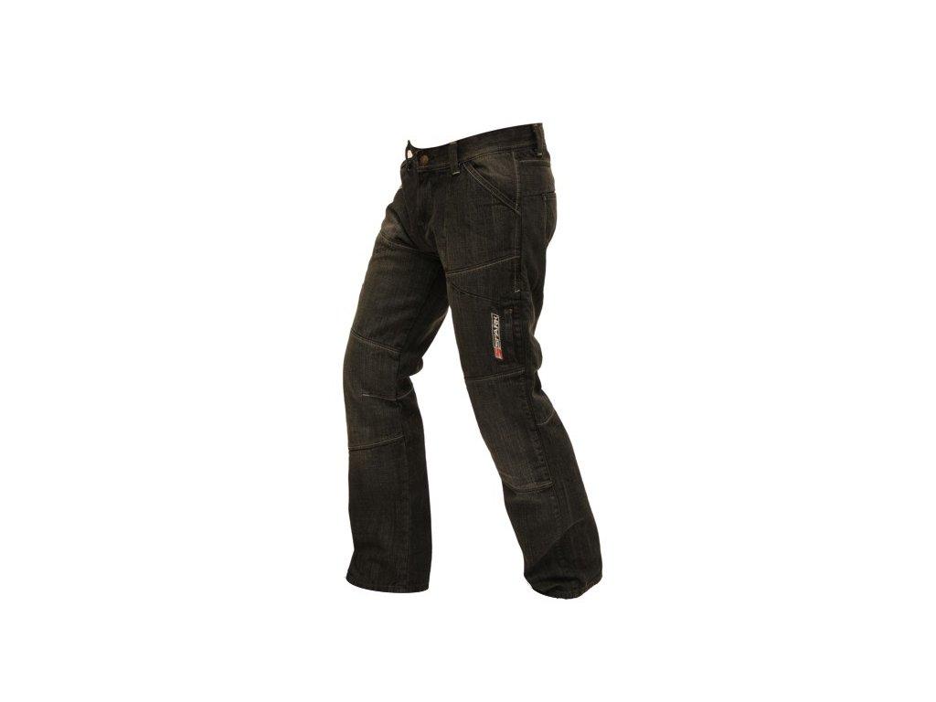 1a73f86b444 Pánské textilní moto kevlar jeansy Spark Track