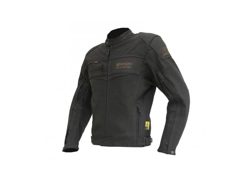Pánská kožená moto bunda Spark Mike - Motovohoz 21219748b70