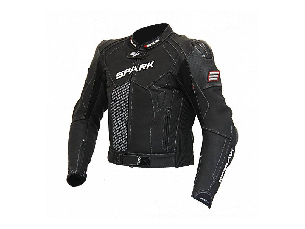 Pánská kožená moto bunda Spark ProComp 11e70b76618