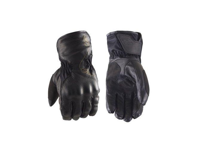 Dámské moto rukavice FIVE WFX SKIN černé