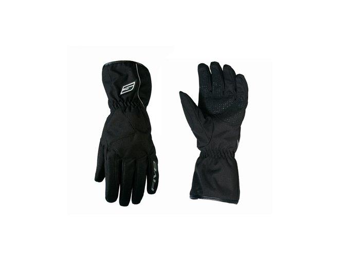 Moto rukavice FIVE ALL WEATHER dlouhé černé